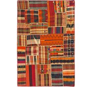 Link to 4' 2 x 6' 2 Kilim Patchwork Rug