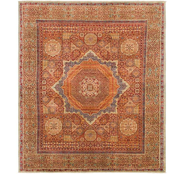 8' 4 x 9' 10 Mamluk Ziegler Oriental...
