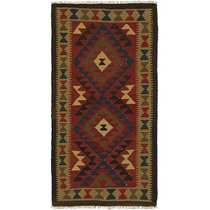 Link to 3' 2 x 6' 6 Kilim Maymana Runner Rug item page