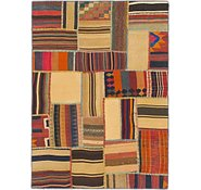 Link to 4' 2 x 5' 8 Kilim Patchwork Rug