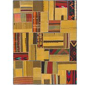 Link to 6' 3 x 6' 9 Kilim Patchwork Square Rug