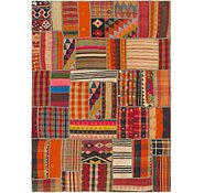 Link to 5' 9 x 7' 10 Kilim Patchwork Rug