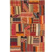 Link to 170cm x 250cm Kilim Patchwork Persian Rug