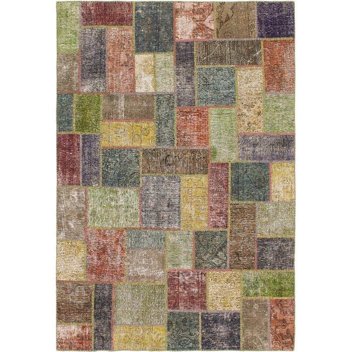 5' 10 x 8' 6 Ultra Vintage Persian Rug