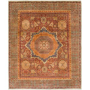 8' 2 x 9' 9 Mamluk Ziegler Oriental...