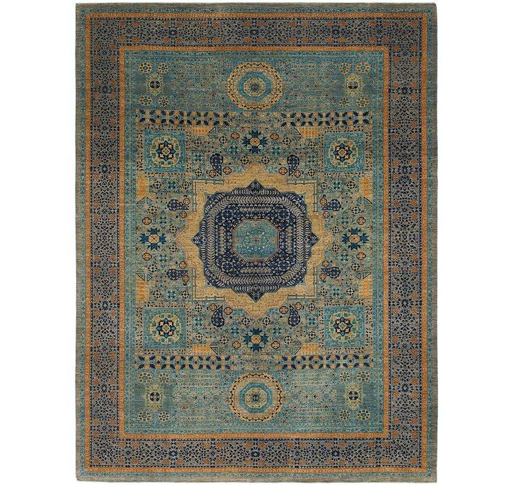 10' 4 x 13' 8 Mamluk Ziegler Oriental...