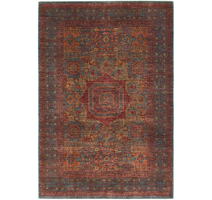 6' 8 x 9' 8 Mamluk Ziegler Oriental...