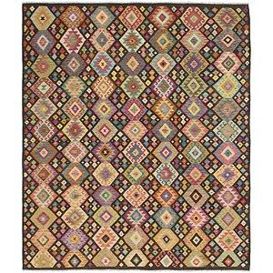 Link to 8' 5 x 9' 9 Kilim Maymana Rug item page