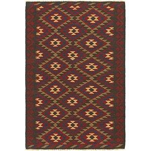Link to 5' 3 x 8' Kilim Maymana Rug item page