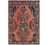 Link to 4' 4 x 6' Hamedan Persian Rug