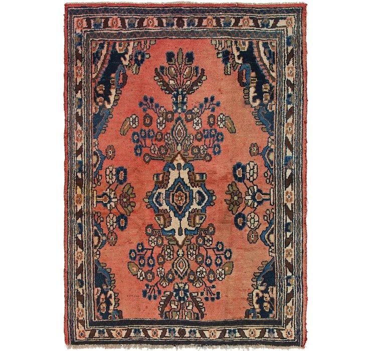 4' 4 x 6' Hamedan Persian Rug