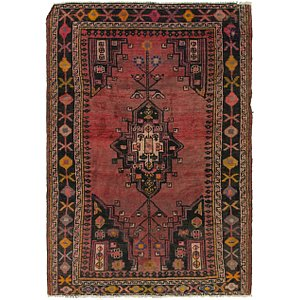 Link to 132cm x 188cm Shiraz Persian Rug item page