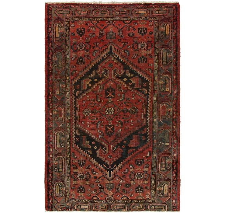 4' x 6' 3 Tuiserkan Persian Rug