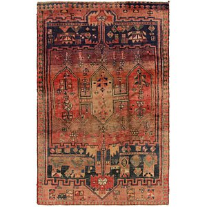 Link to 4' 3 x 6' 10 Shiraz Persian Rug item page