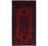 Link to 4' 9 x 9' Shiraz Persian Runner Rug