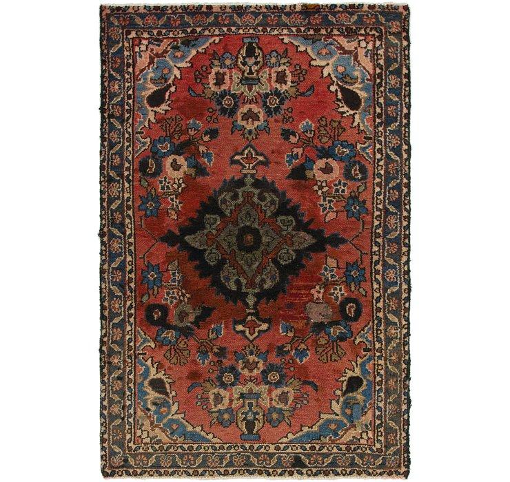 4' x 6' 5 Shahrbaft Persian Rug