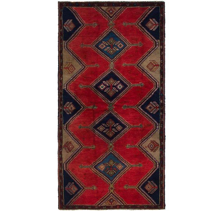 3' 8 x 7' 4 Chenar Persian Runner Rug