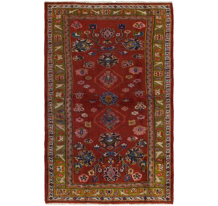 3' 8 x 6' Hamedan Persian Rug