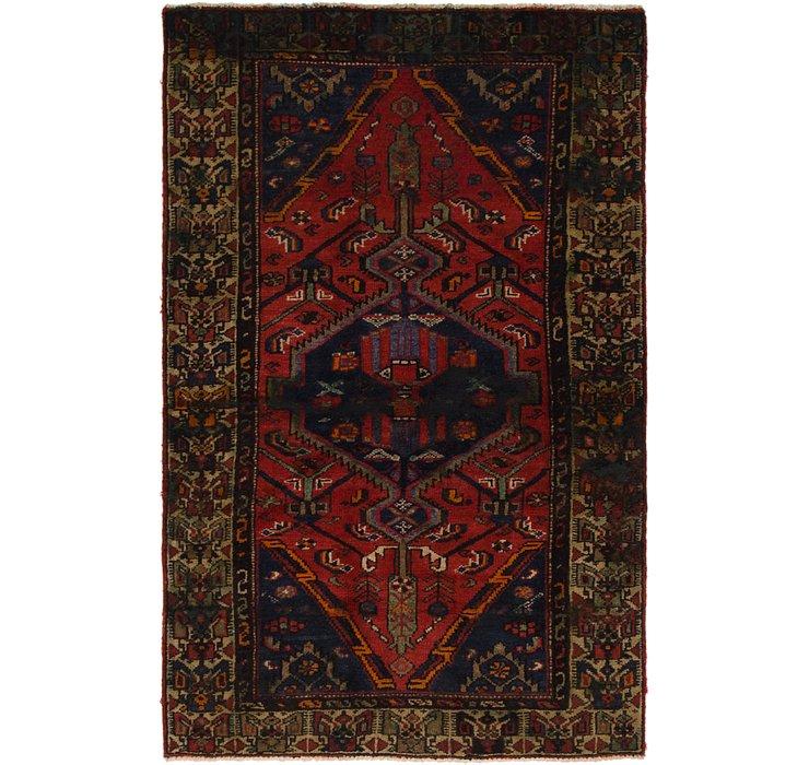 122cm x 188cm Tuiserkan Persian Rug