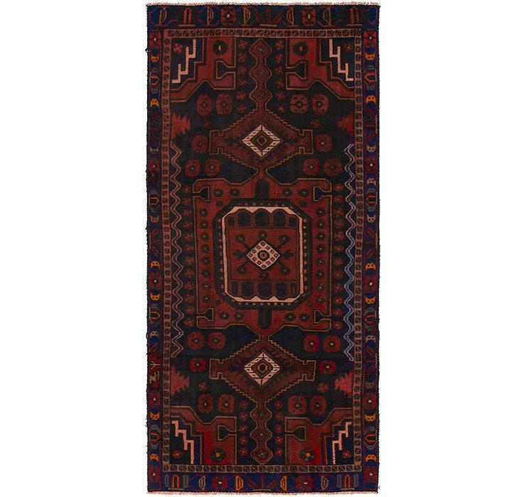 122cm x 282cm Shiraz Persian Runner Rug