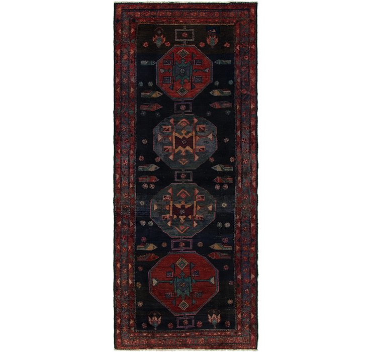 3' 7 x 9' Koliaei Persian Runner ...