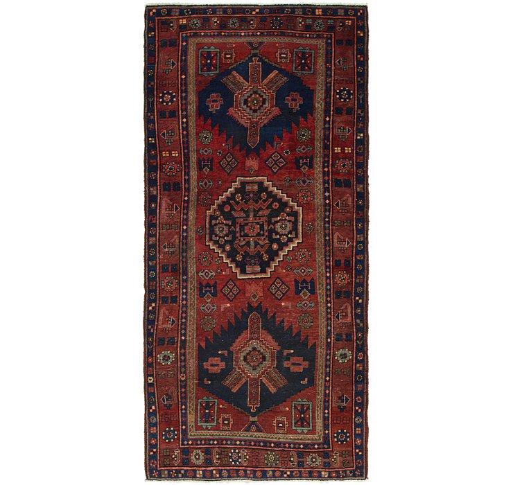 4' 2 x 9' 2 Sirjan Persian Runner Rug