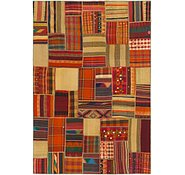 Link to 6' 8 x 10' Kilim Patchwork Rug