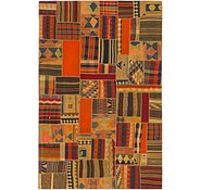 Link to 6' 8 x 10' 2 Kilim Patchwork Rug