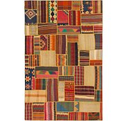 Link to 6' 5 x 9' 10 Kilim Patchwork Rug