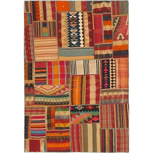 Link to 175cm x 250cm Kilim Patchwork Rug item page