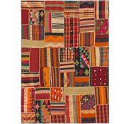Link to 5' 9 x 8' Kilim Patchwork Rug