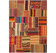Link to 173cm x 245cm Kilim Patchwork Persian Rug