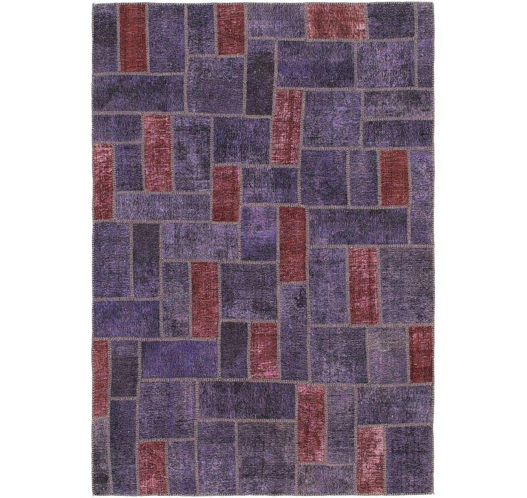 5' 8 x 8' 3 Ultra Vintage Persian Rug