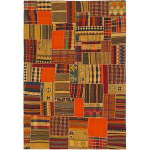 Link to 7' x 10' Kilim Patchwork Rug item page