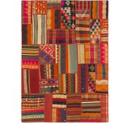 Link to 6' x 8' Kilim Patchwork Rug