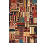 Link to 6' 8 x 10' 4 Kilim Patchwork Rug