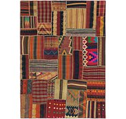 Link to 5' 7 x 7' 9 Kilim Patchwork Rug