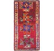 Link to 4' x 7' 9 Shiraz Persian Runner Rug