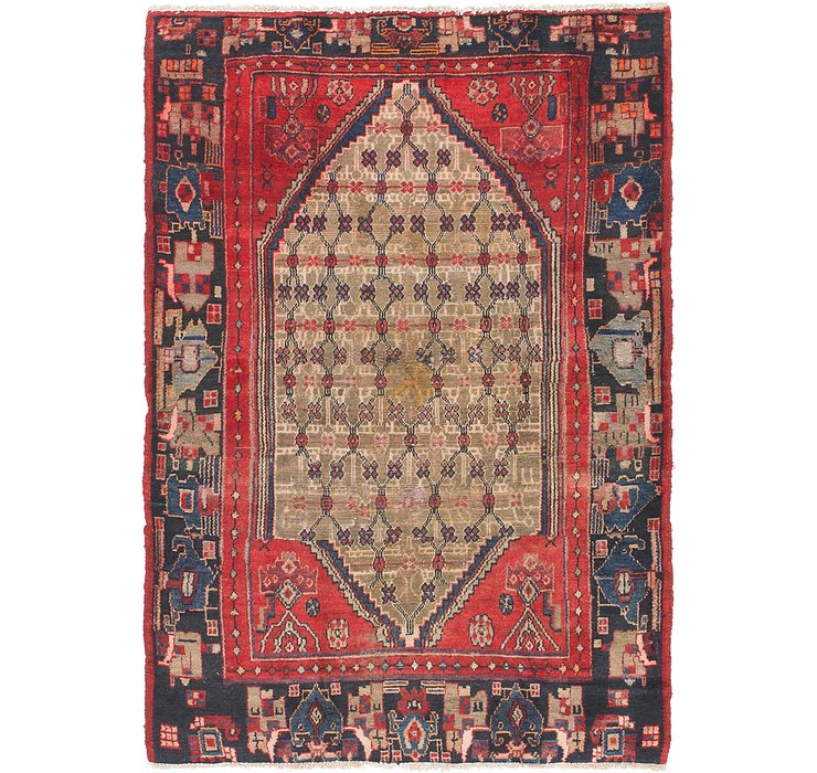 4' 3 x 6' 4 Koliaei Persian Rug