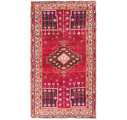 Link to 4' 5 x 8' Shiraz Persian Runner Rug