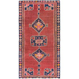 4' 5 x 8' 8 Shiraz Persian Runner Rug