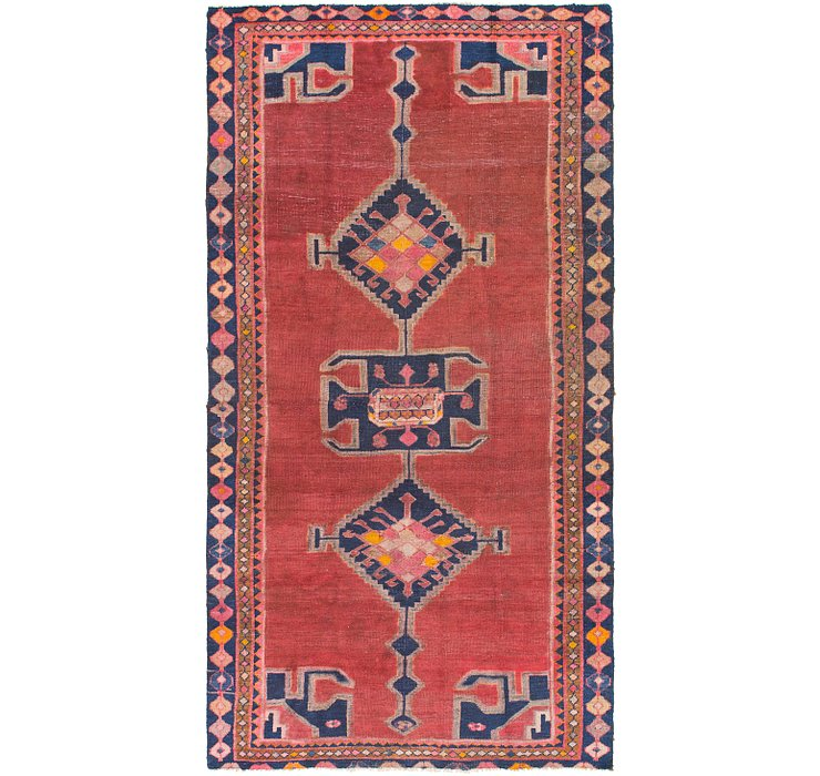 4' 5 x 8' 8 Shiraz Persian Runner Rug