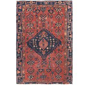Link to 4' 5 x 6' 6 Shiraz Persian Rug