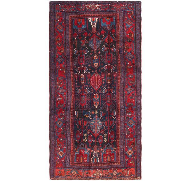 4' 7 x 9' 4 Sirjan Persian Runner Rug