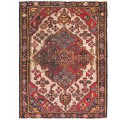 Link to 3' 6 x 4' 9 Hamedan Persian Rug