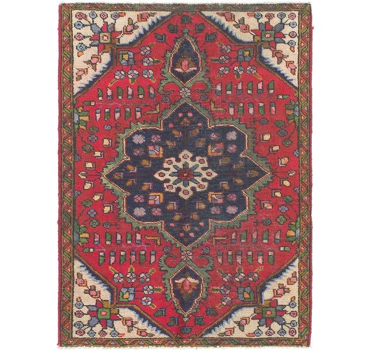 3' 3 x 4' 8 Tabriz Persian Rug