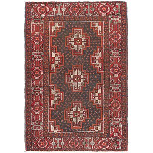 Link to 117cm x 175cm Balouch Persian Rug item page
