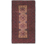 Link to 3' 3 x 6' 6 Balouch Persian Runner Rug