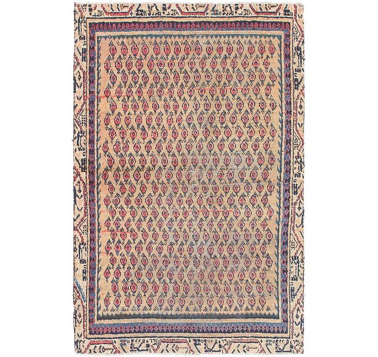 3' 4 x 5' 4 Farahan Persian Rug