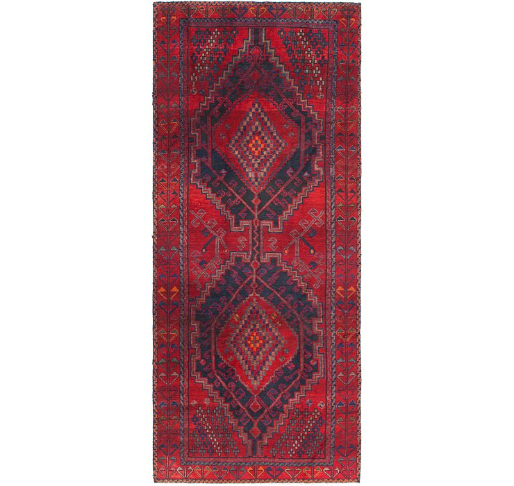 4' 8 x 11' 3 Shiraz Persian Runner Rug